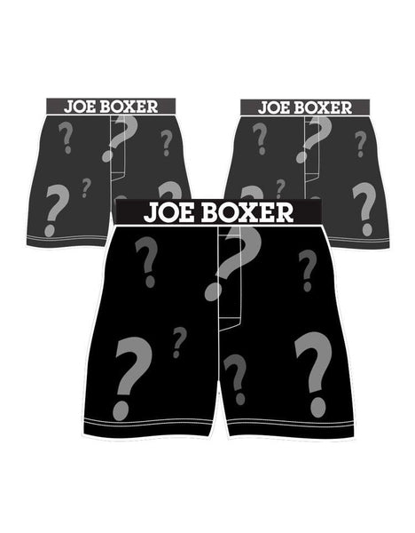 Men's Boxers Mystery 3-Pack