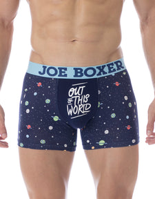 Out of This World Fashion Fitted Boxer