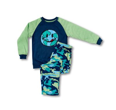 Camo Tee and Pant Set - Joe Boxer