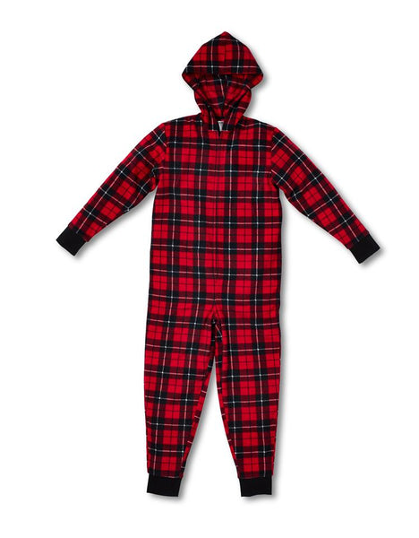 Plaid unisex Onesie