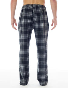 Microfleece Pant - Black Plaid