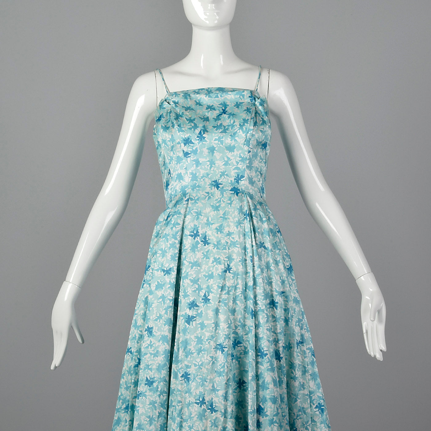 1950s Novelty Butterfly Print Dress