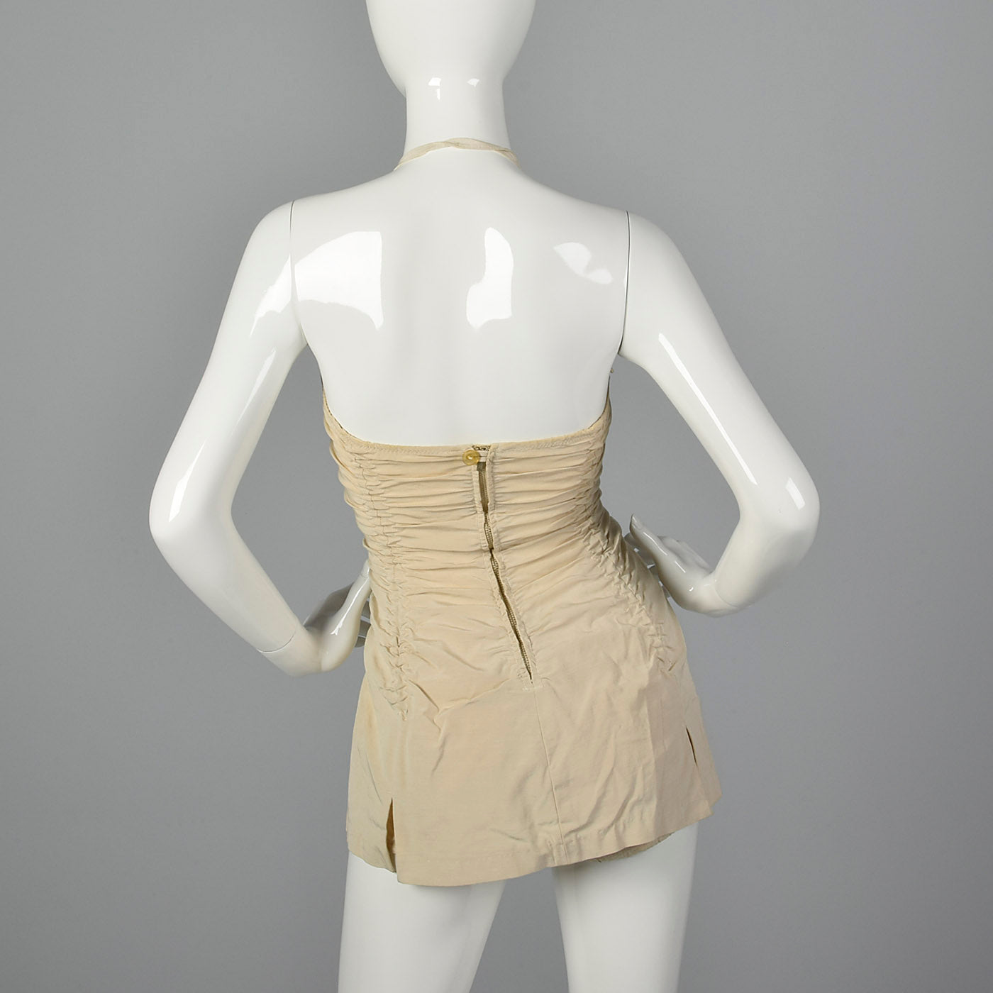 1950s Pin Up Halter Swimsuit