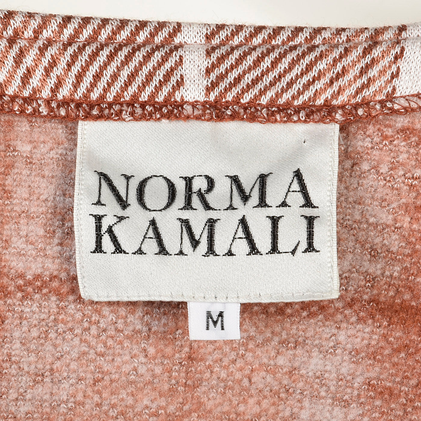 1980s Norma Kamali Knit Separates Set in Plaid