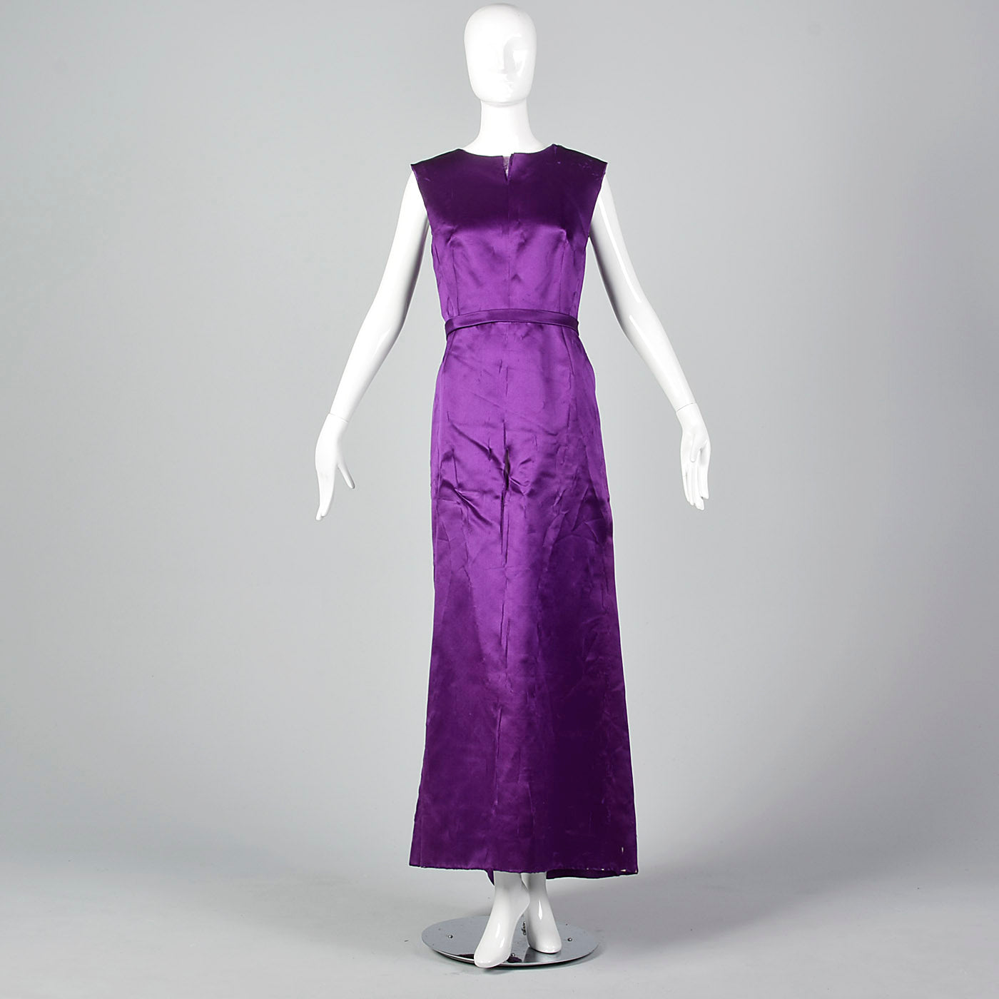 1960s Balenciaga Purple Gown