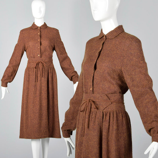Medium Missoni 1970s Brown Wool Separates Set