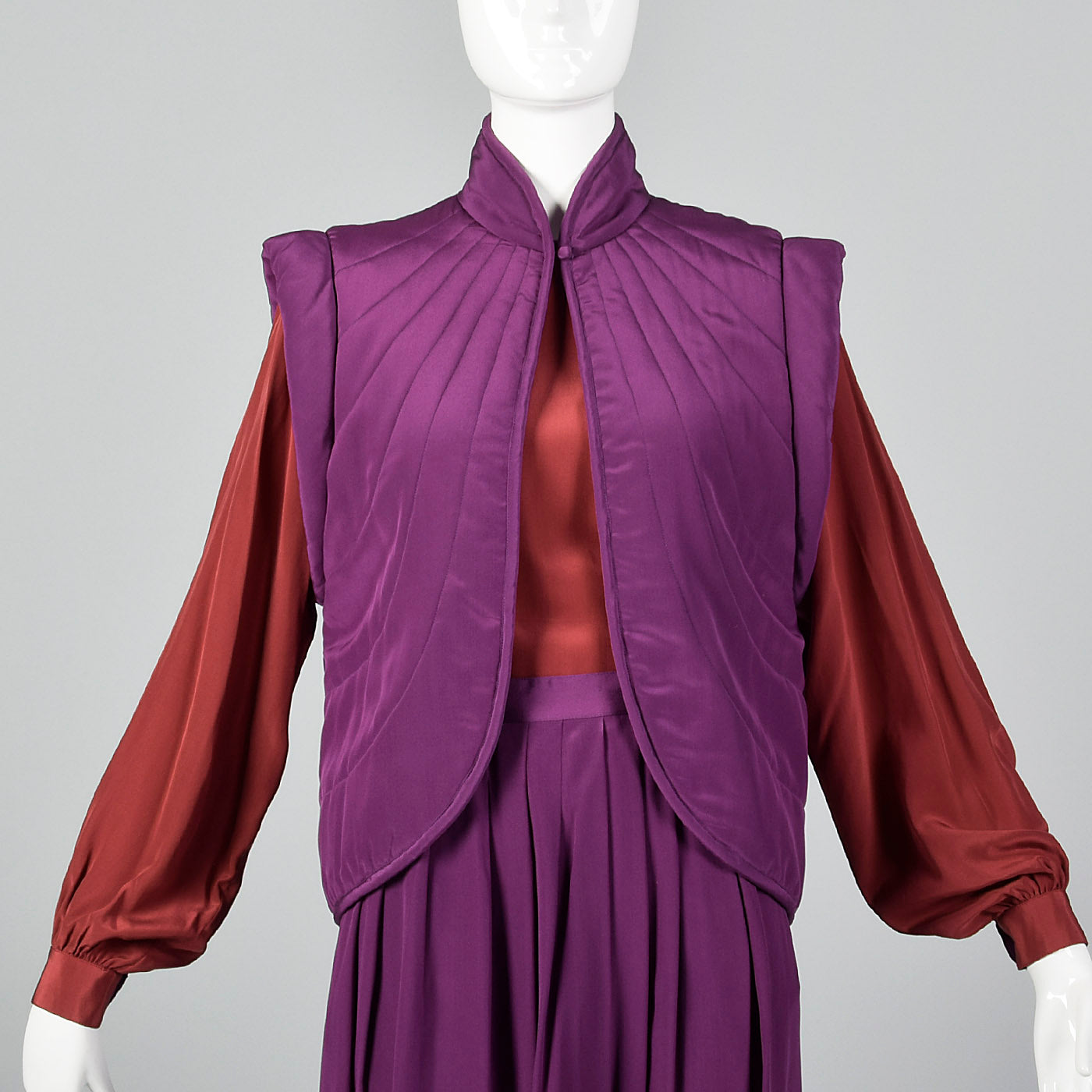1980s Pierre Cardin Three Piece Silk Set