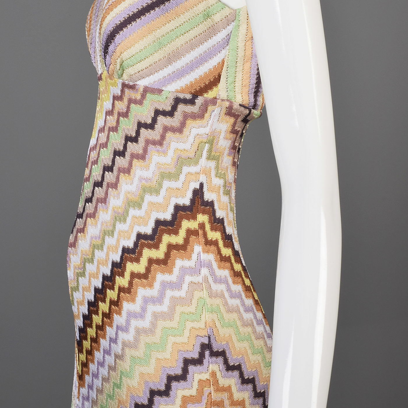 1990s Missoni Sleeveless Midi Dress