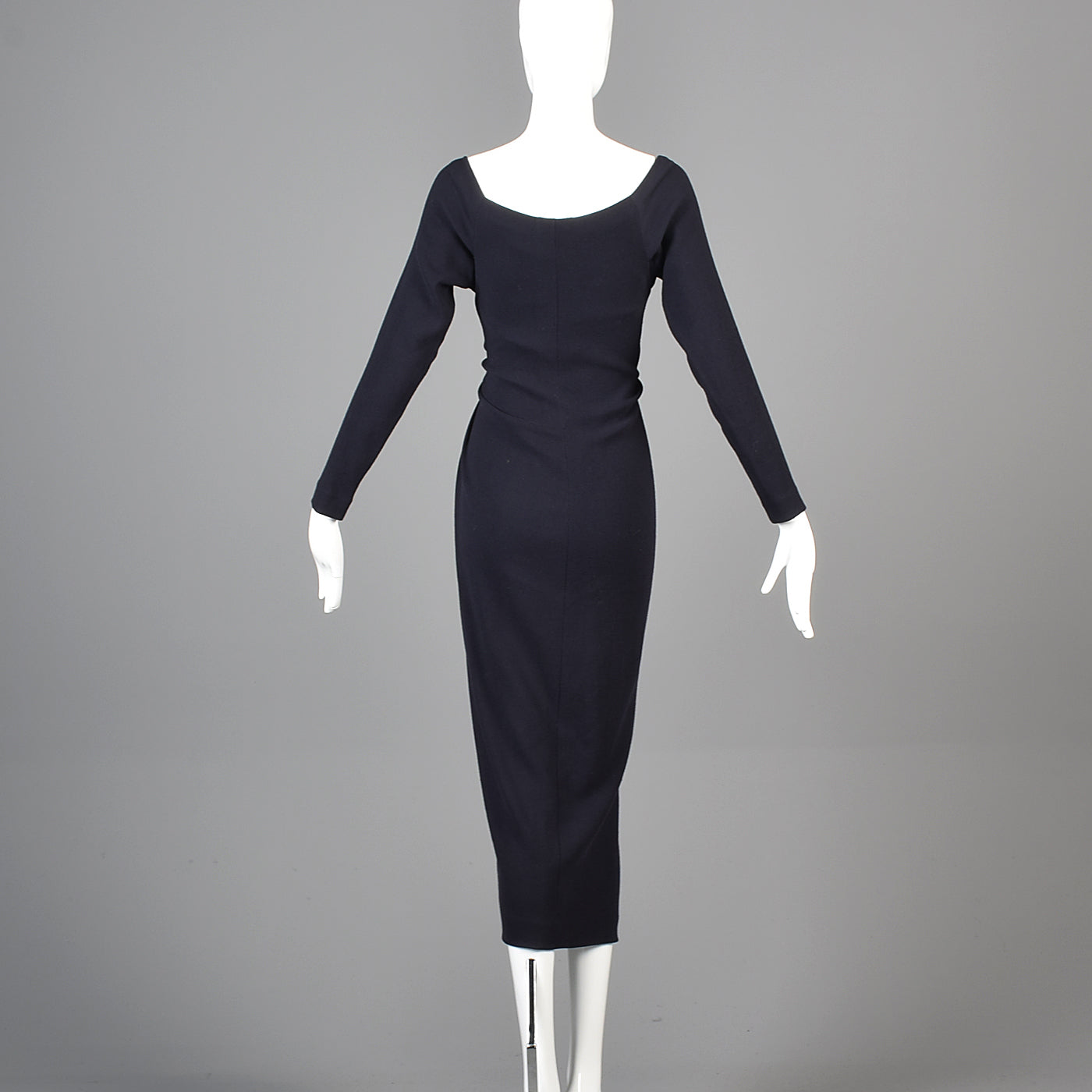 1990s Donna Karan Black Label Body Suit Dress worn by Susan Lucci