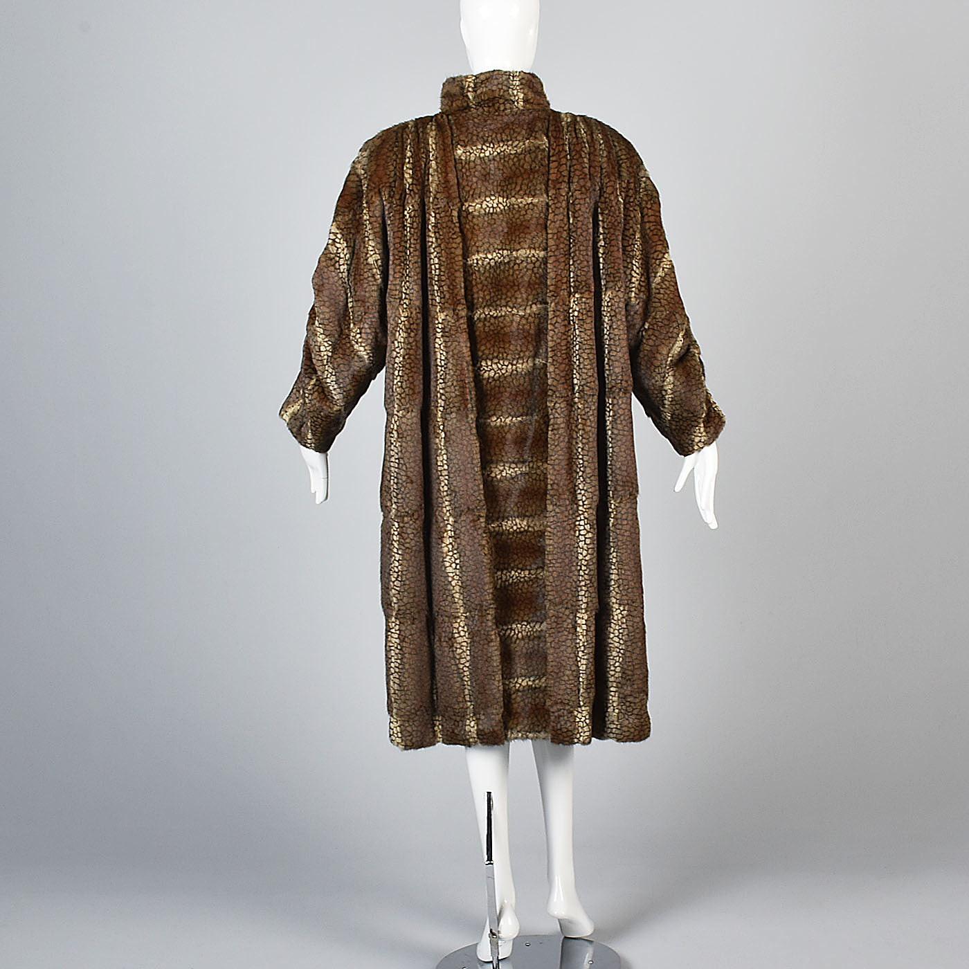 Luxurious Fendi Russian Squirrel Fur Coat