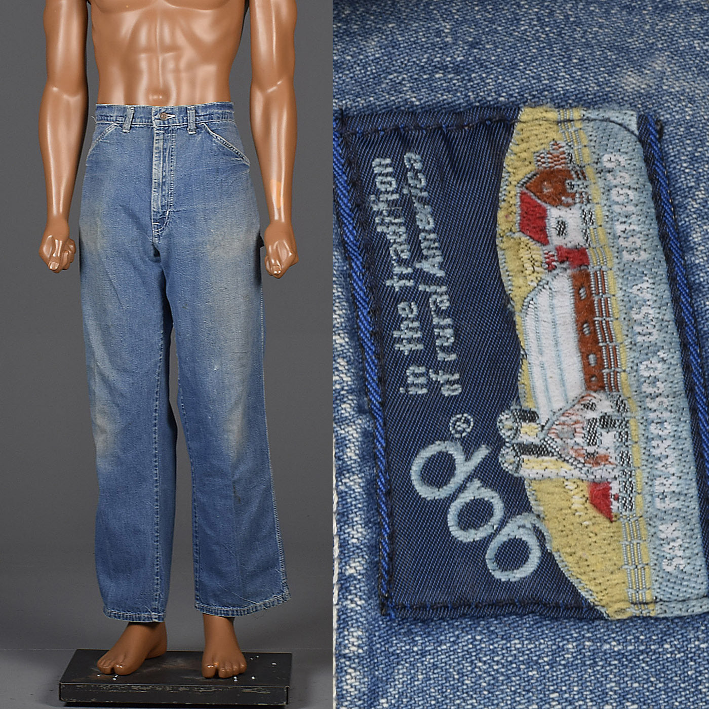 1970s Mens Gap Carpenter Jeans