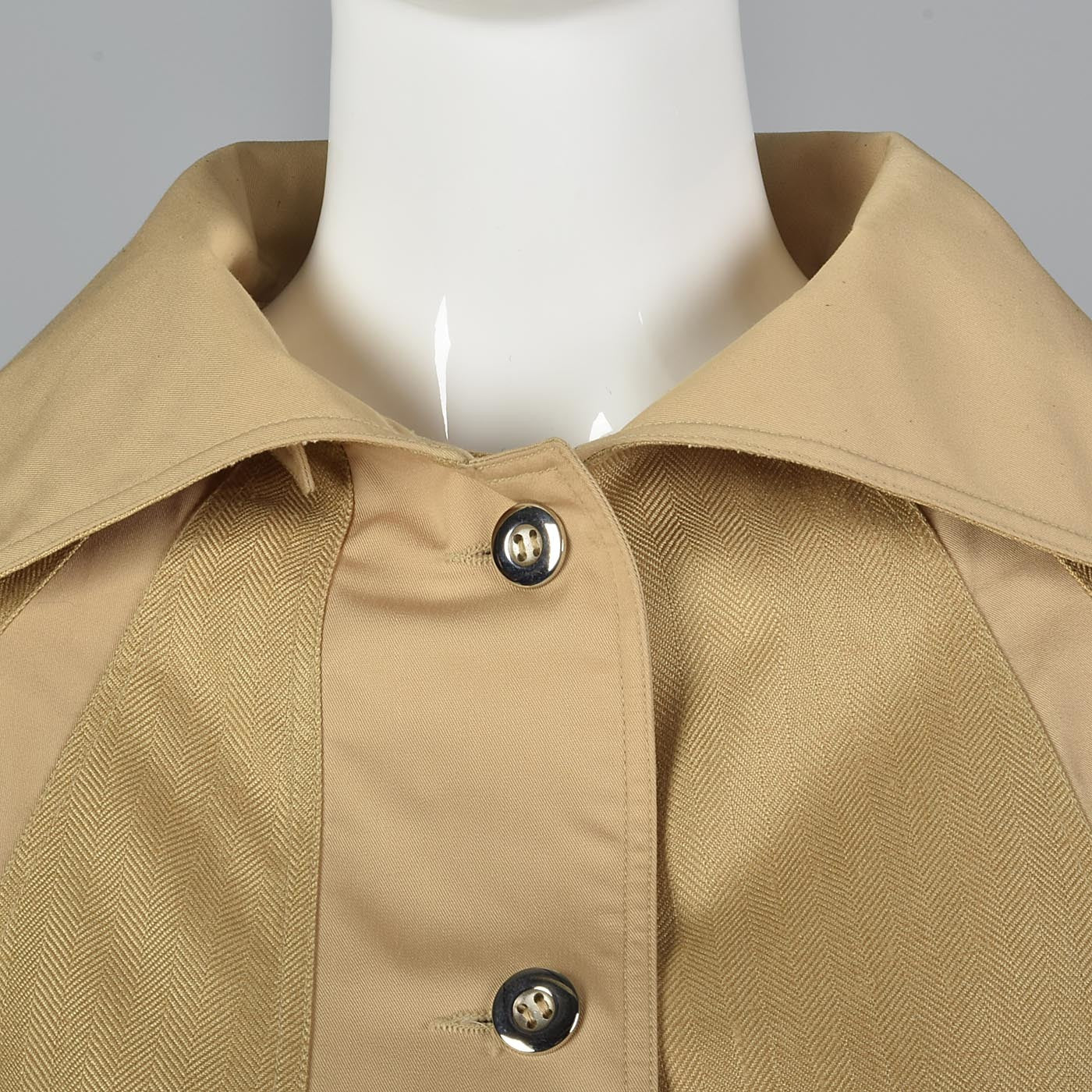 1970s Courreges Classic Loose Fitting  Autumn Coat