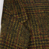 1960s Mens Mohair Jacket in Brown Plaid
