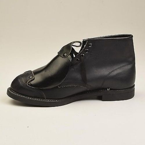 Men's Hy Test Black Leather Steel Toe Safety Ankle Boots