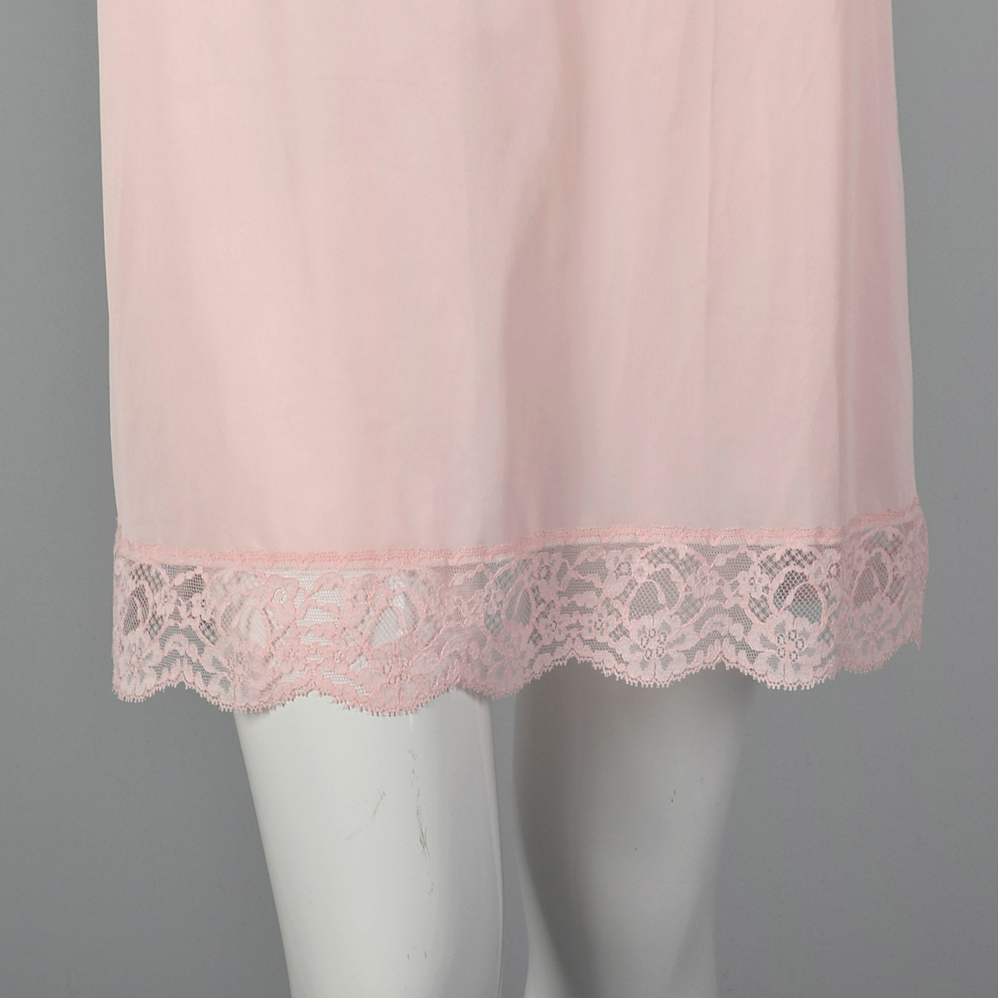 1950s Vanity Fair Pink Slip with Lace Bust