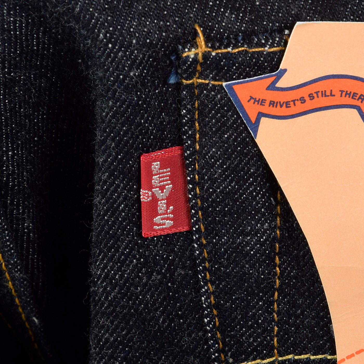 Levi's LVC 1955 Reproduction Jeans, Cone Denim with Red Line Selvedge, 1996