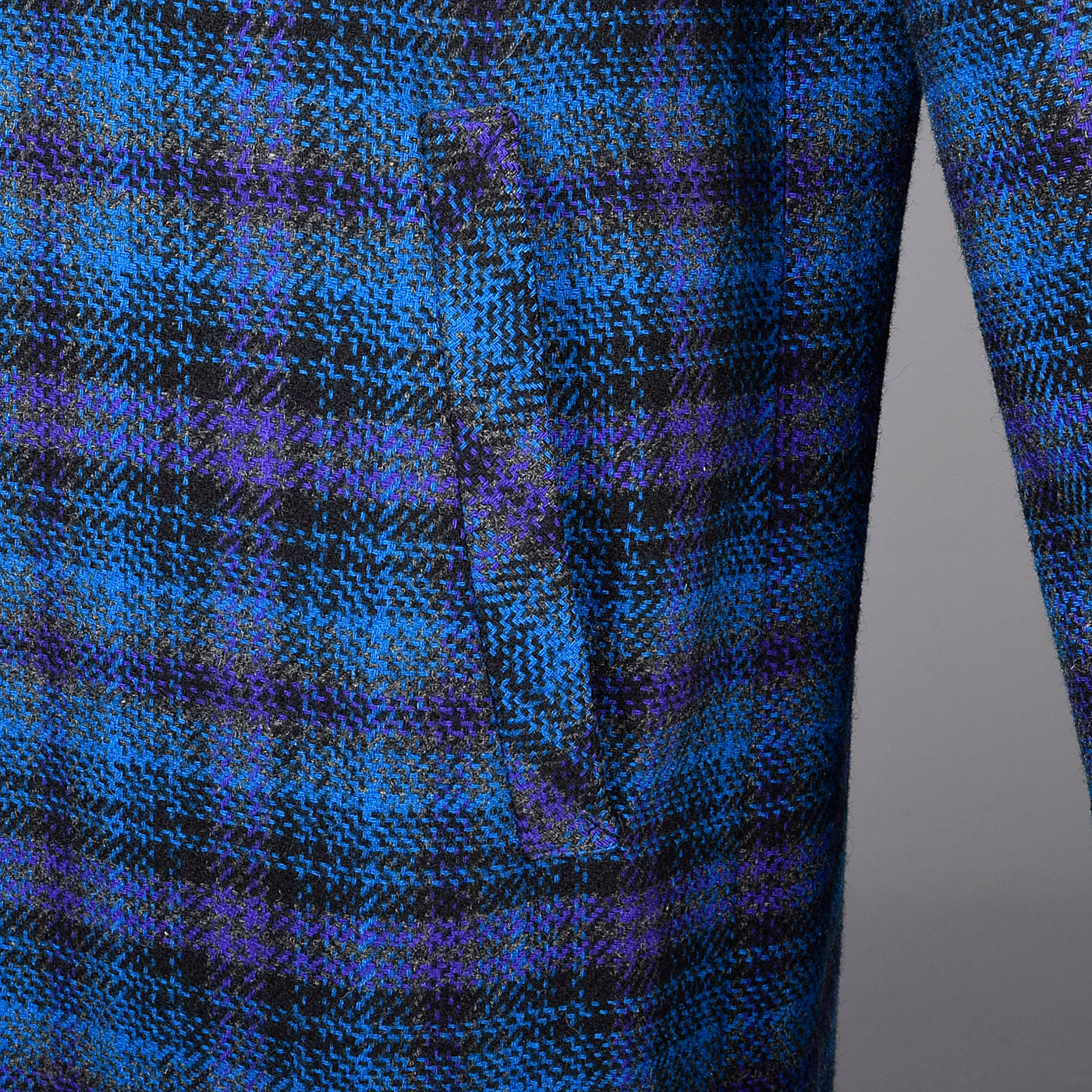 1950s Pendleton Tartan Plaid Coat