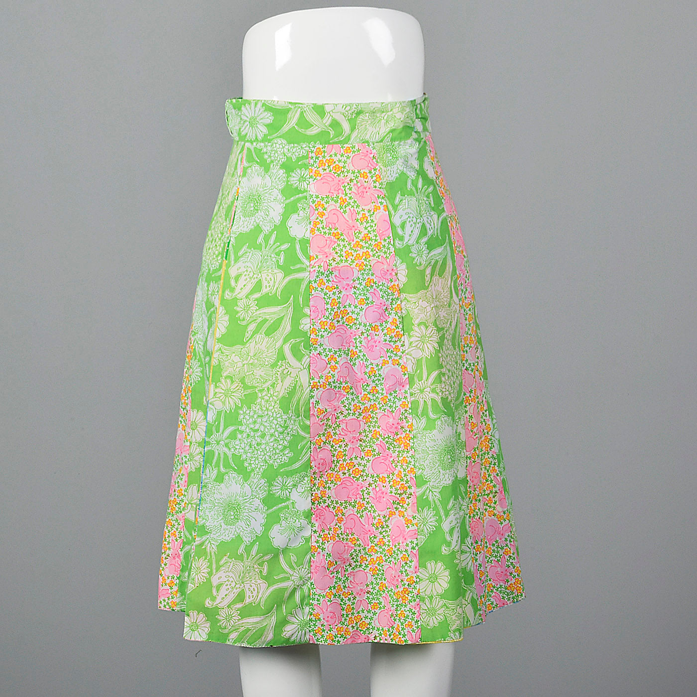 1970s Lilly Pulitzer Reversible Wrap Skirt