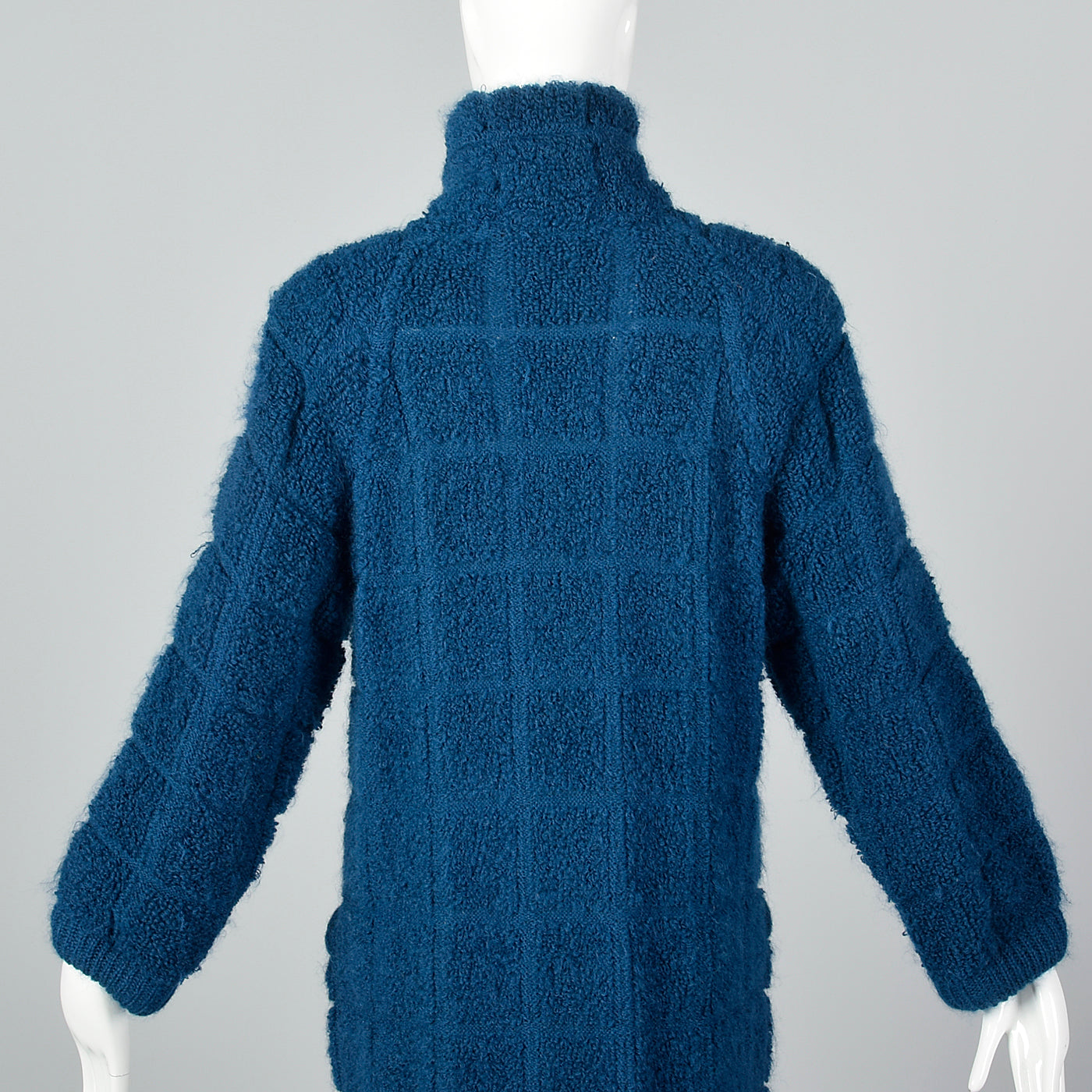 Soft & Cozy Missoni Teal Mohair Cardigan Sweater Coat