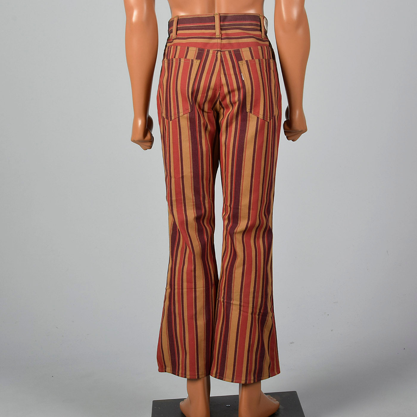 1960s Mens Deadstock Levi's Stripe Bell Bottoms