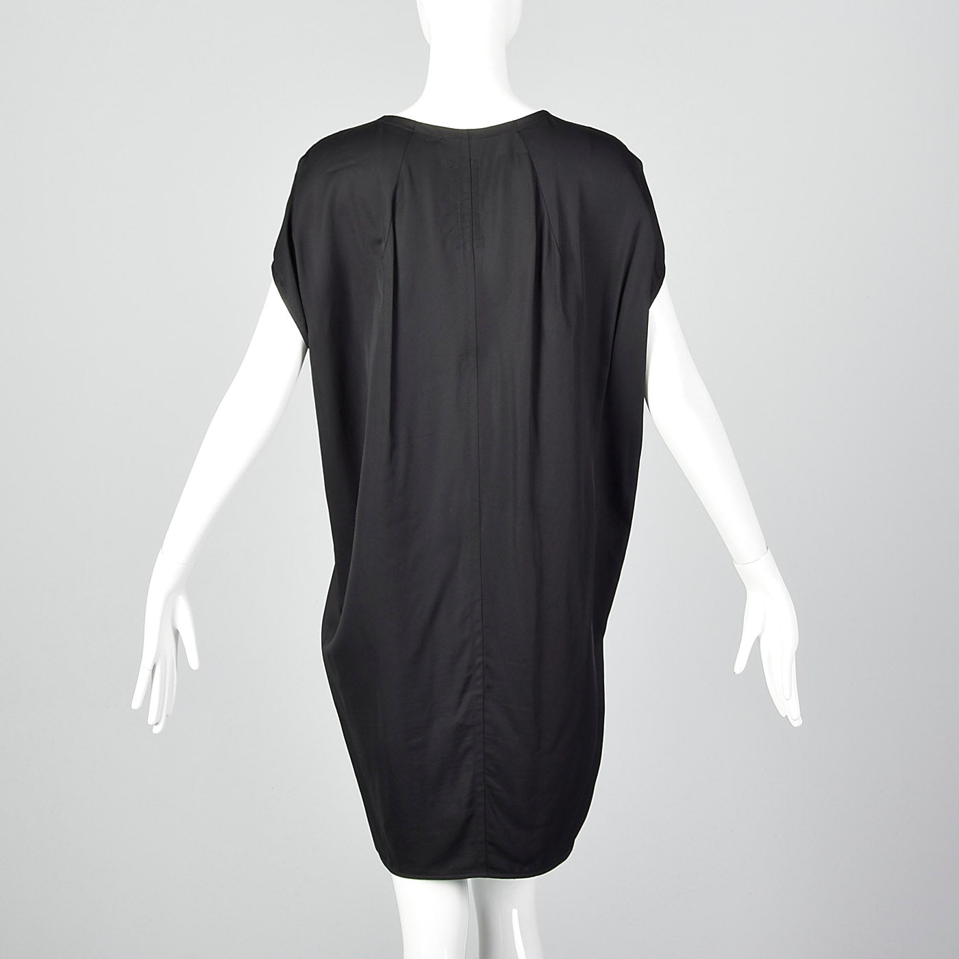 2015 Black Cocoon Dress