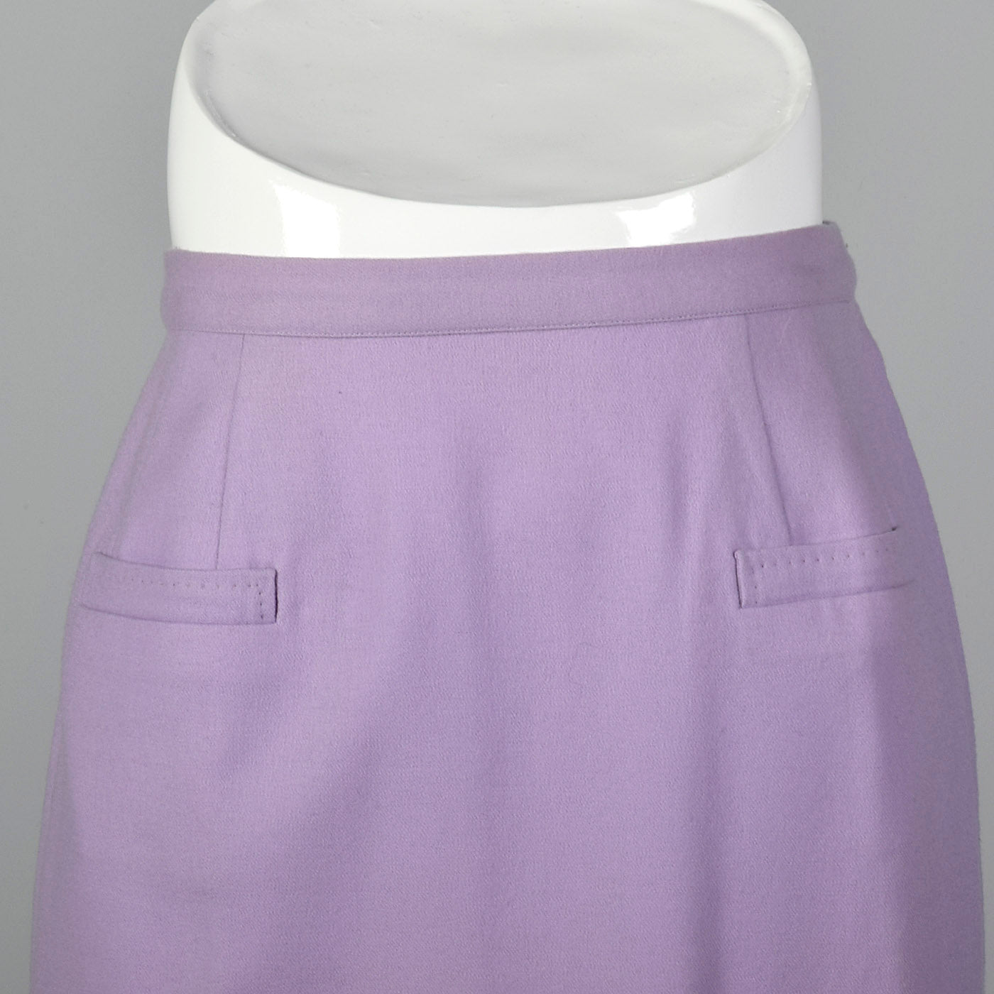 1950s Lavender Pencil Skirt