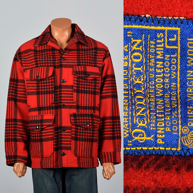1960s Pendleton Heavy Wool Jacket