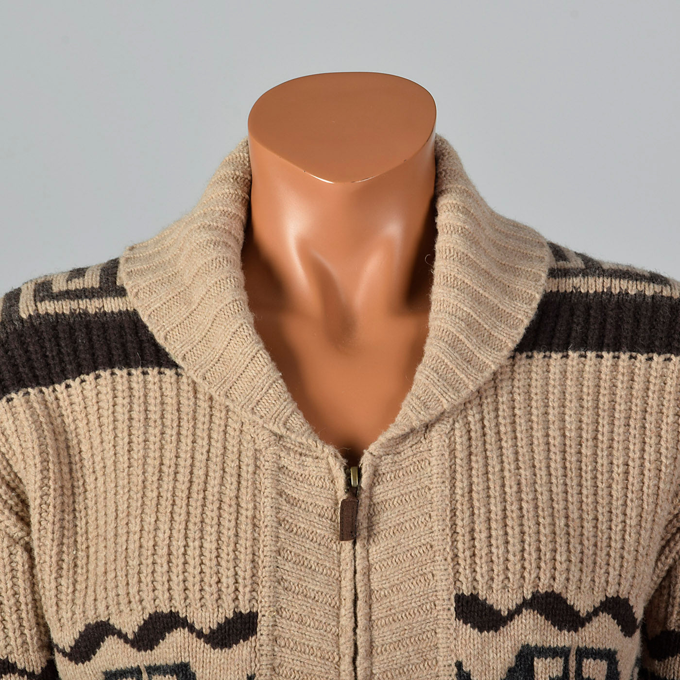 2000s Mens Pendleton Shawl Collar Cardigan
