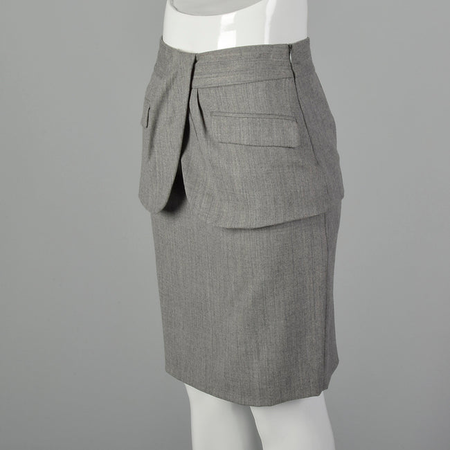 XS Love Moschino Deadstock Pencil Skirt