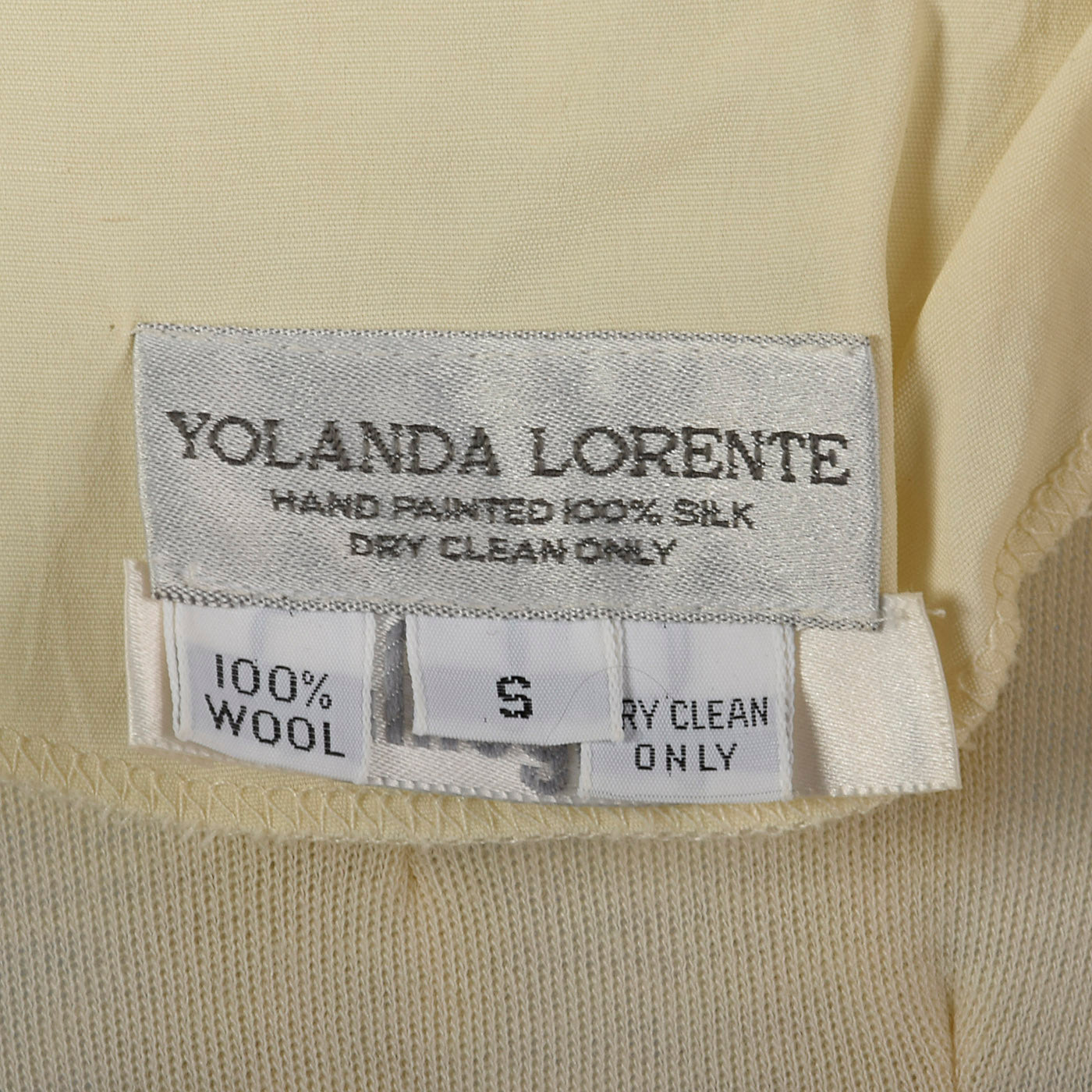 1980s Yolanda Lorente I Magnin Unique Wool Set
