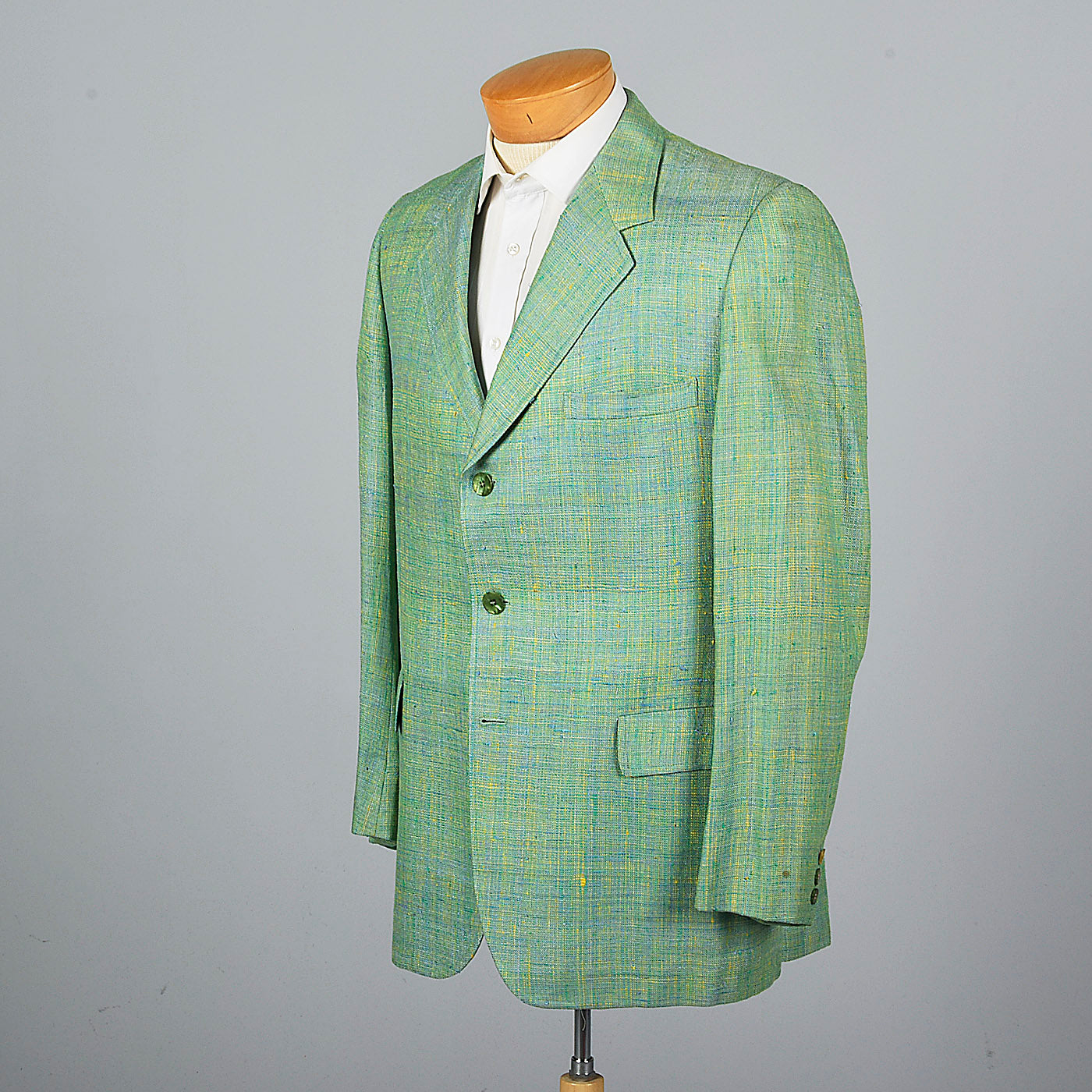 1960s Green Silk Jacket