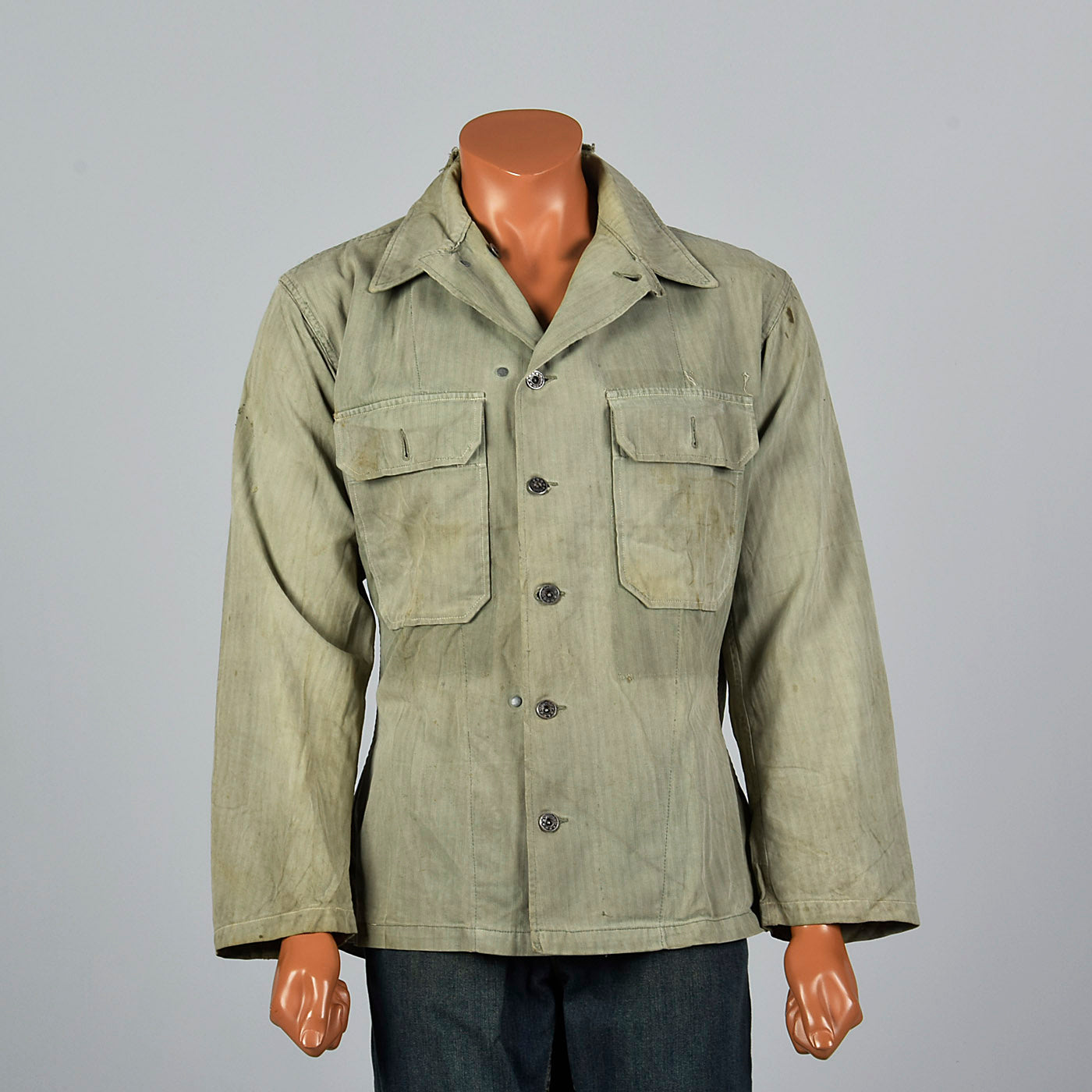 1940s WW2 US Army Shirt