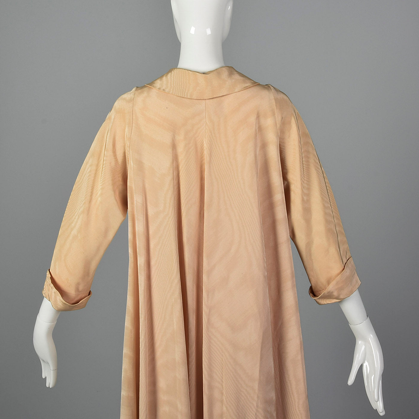 1960s Saks Fifth Avenue Elegant Evening Coat