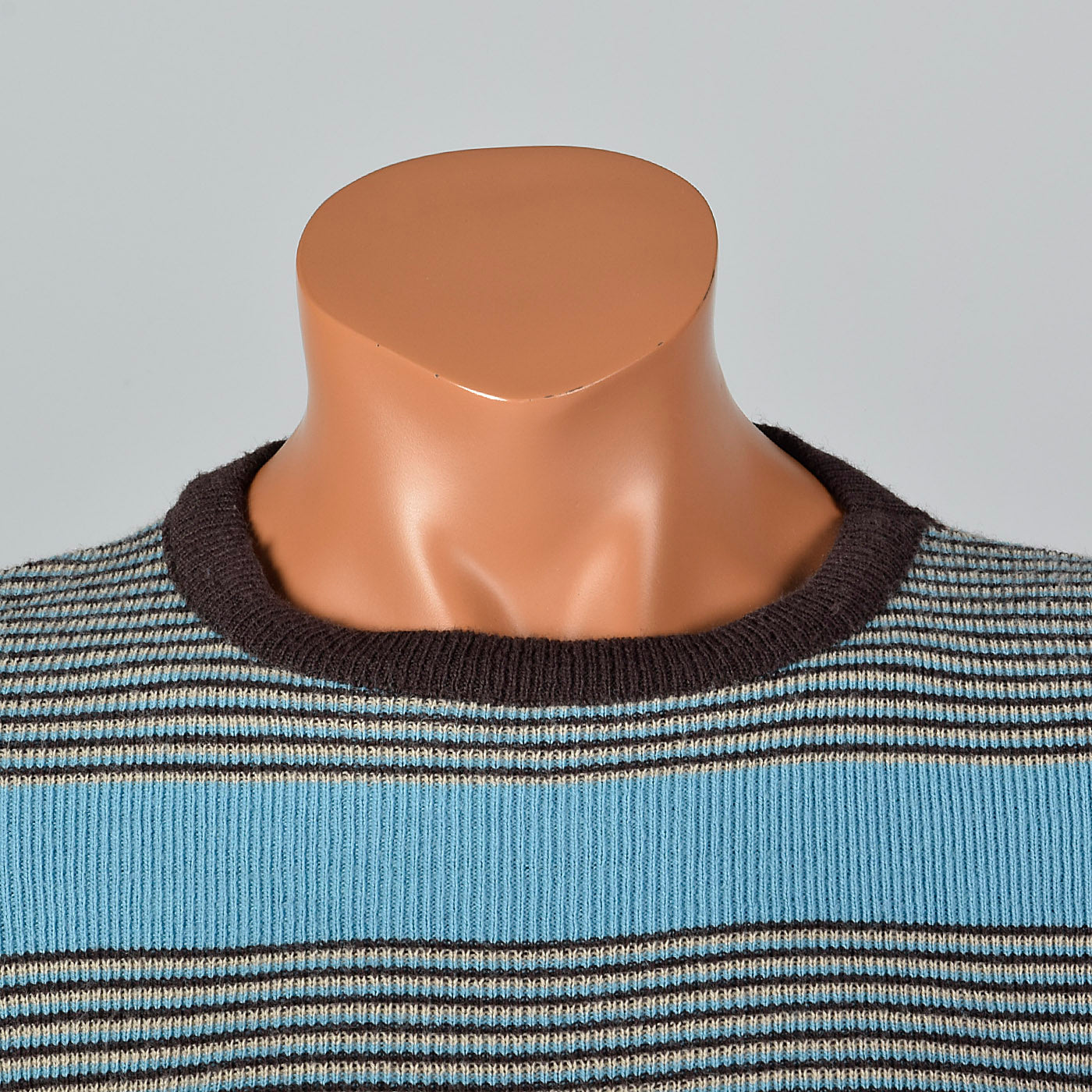 1970s Jockey Raps  Tight Striped Sweater