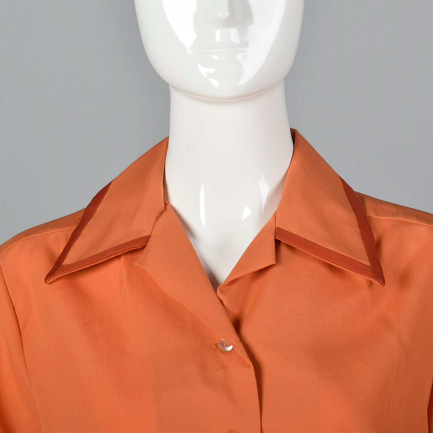 1960s Bowling Shirt with Chainstitch Embroidery