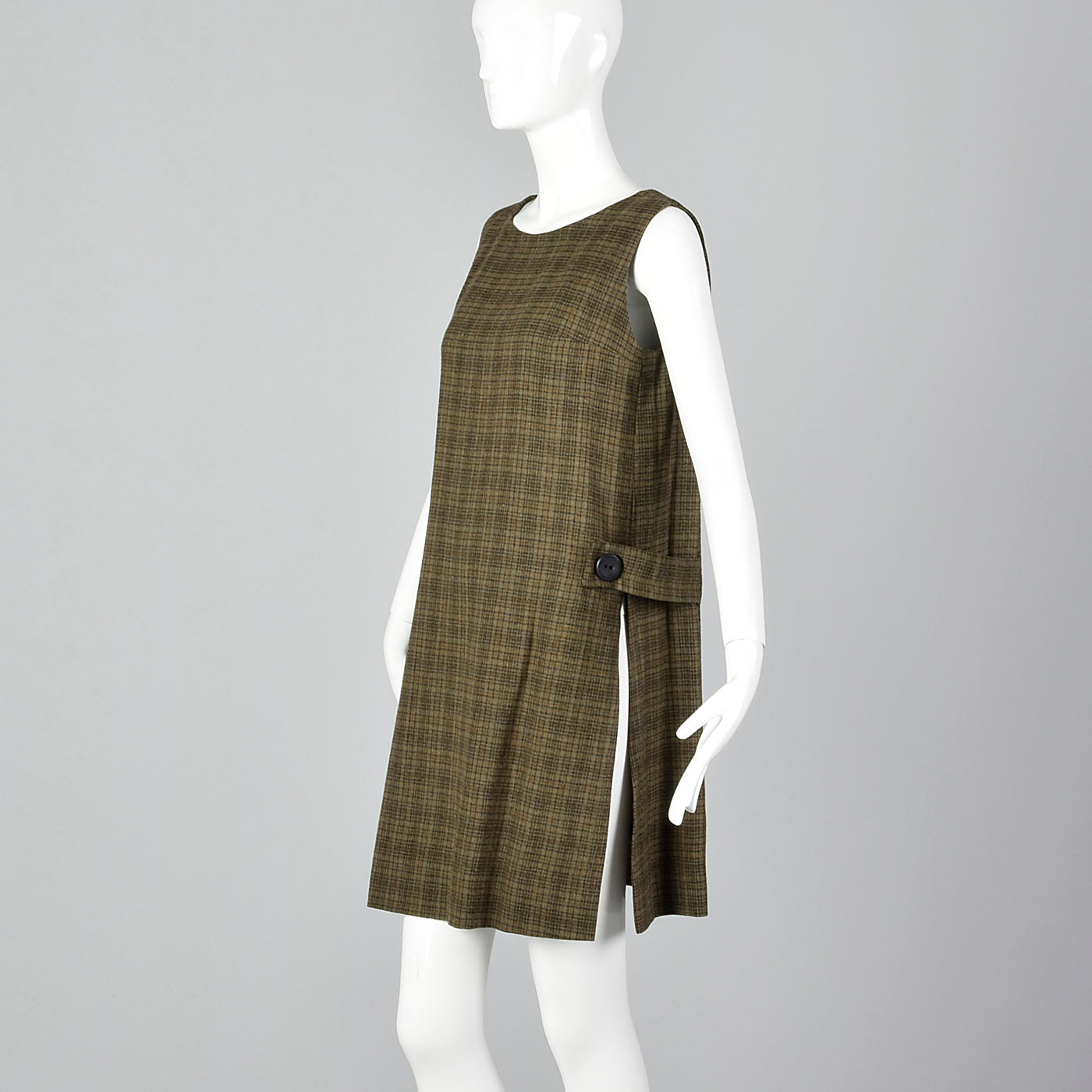 7f1ccede4e953 1960s Saks Fifth Avenue Tweed Maternity Set – Style & Salvage