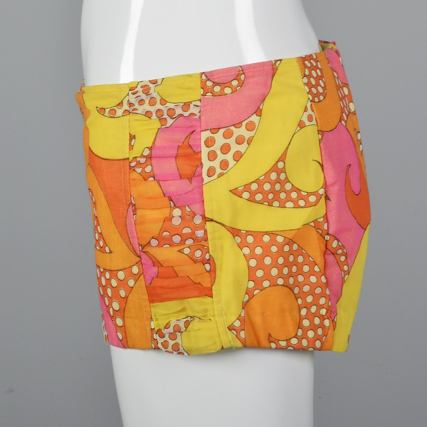1960s Psychedelic Hot Pants