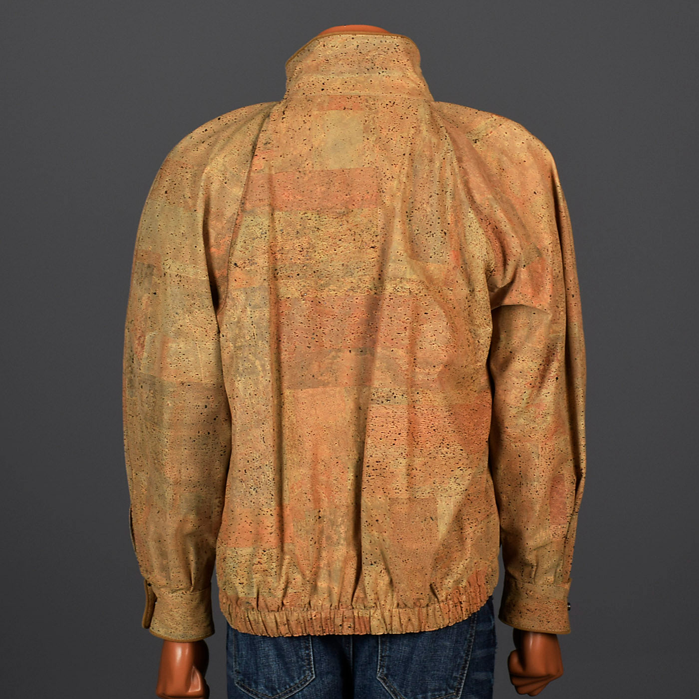 Deadstock 1980s Men's Cork Jacket by Corkway Spain