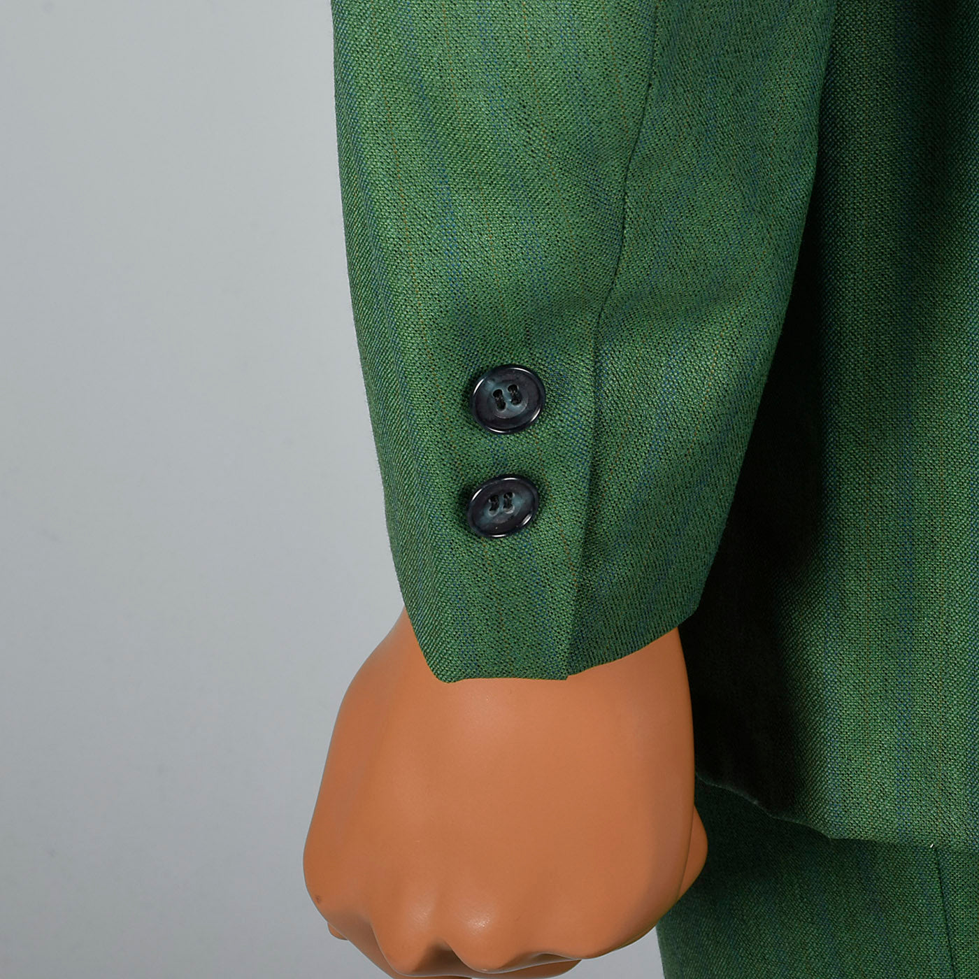 1960s Men's Bright Green Two Piece Suit