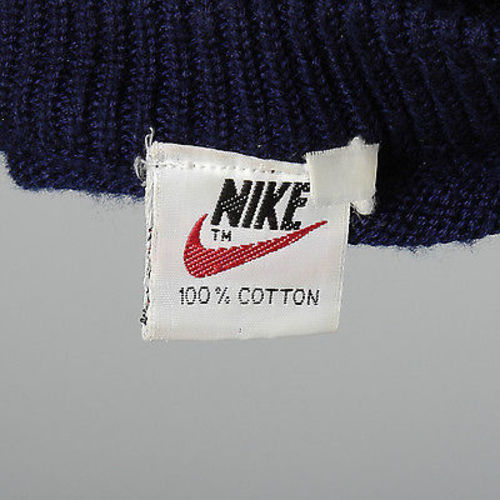 1970s Men's Nike Corporate Headquarters Knit Sweater