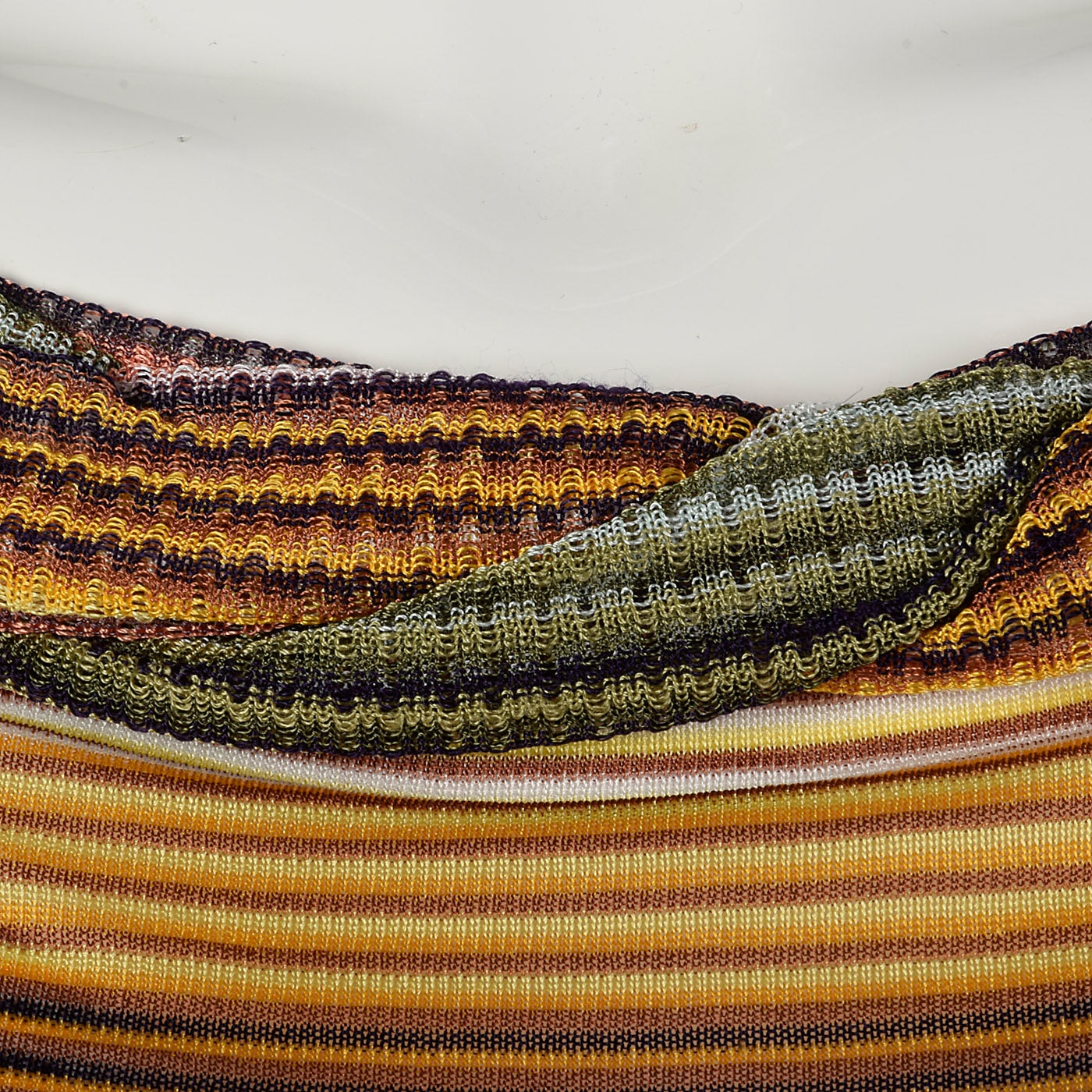 1980s Missoni Knit Stripe Top