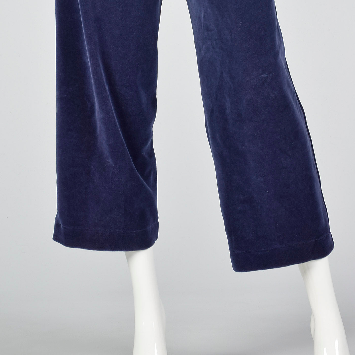 1980s Sonia Rykiel Velour Knit Set in Blue
