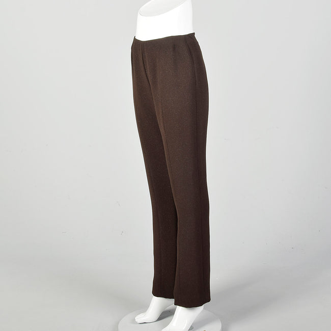 Small Juliana Collezione Brown Bootcut Pants