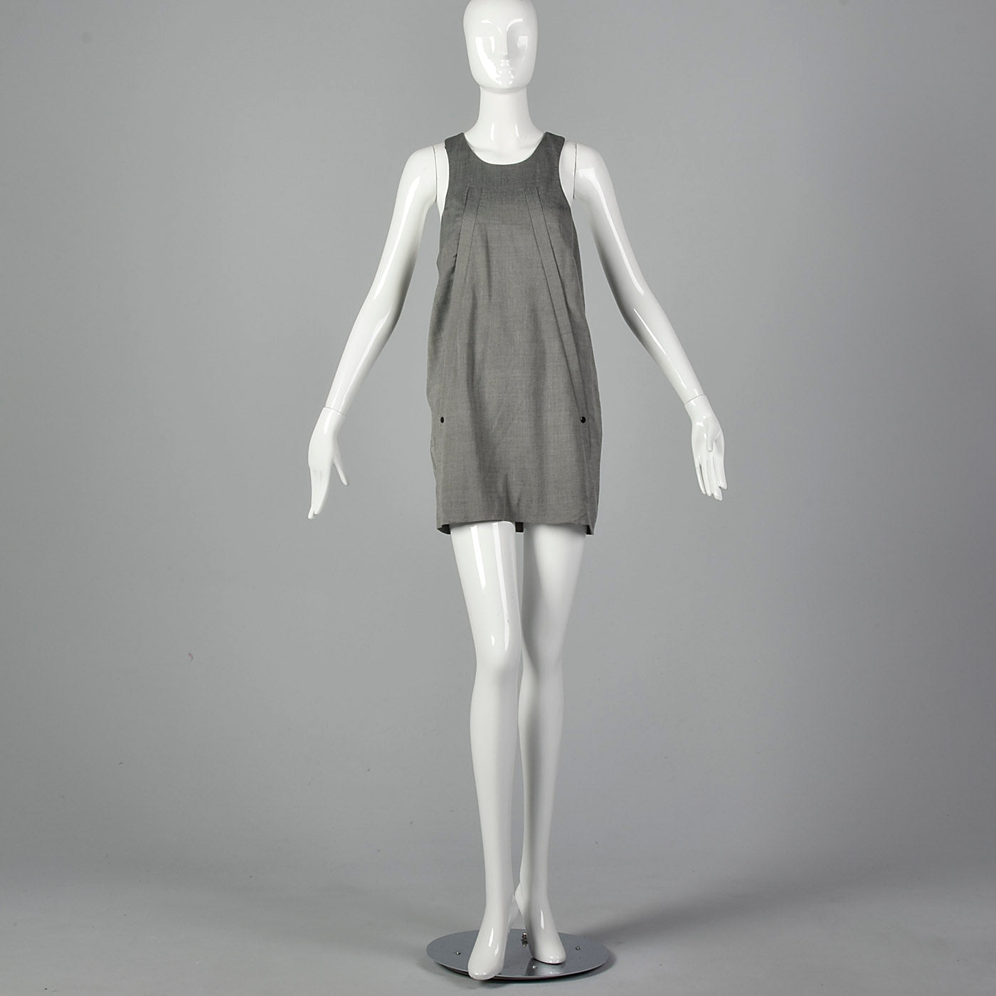 2010s Alexander Wang Gray Tank Dress