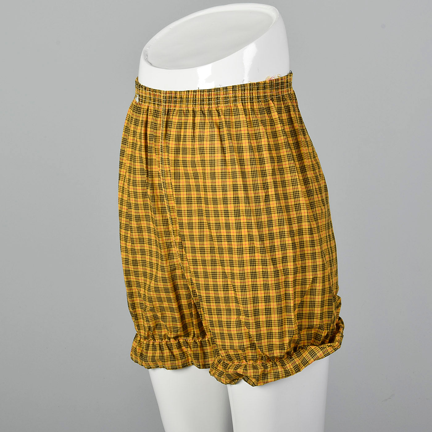 1960s Plaid Bloomers