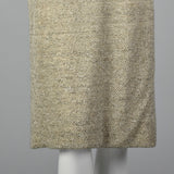 Small Anne Fogarty 1960s Gray Heathered Knit Dress