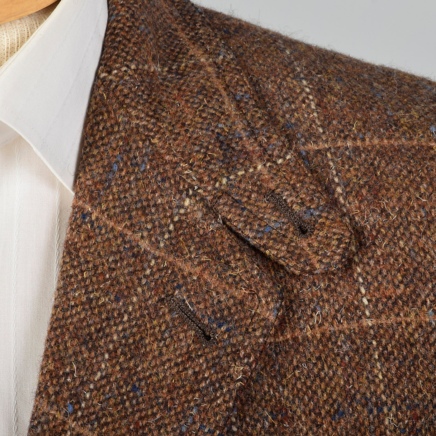 1970s Mens Saks Fifth Avenue Wool Tweed Shooting Jacket