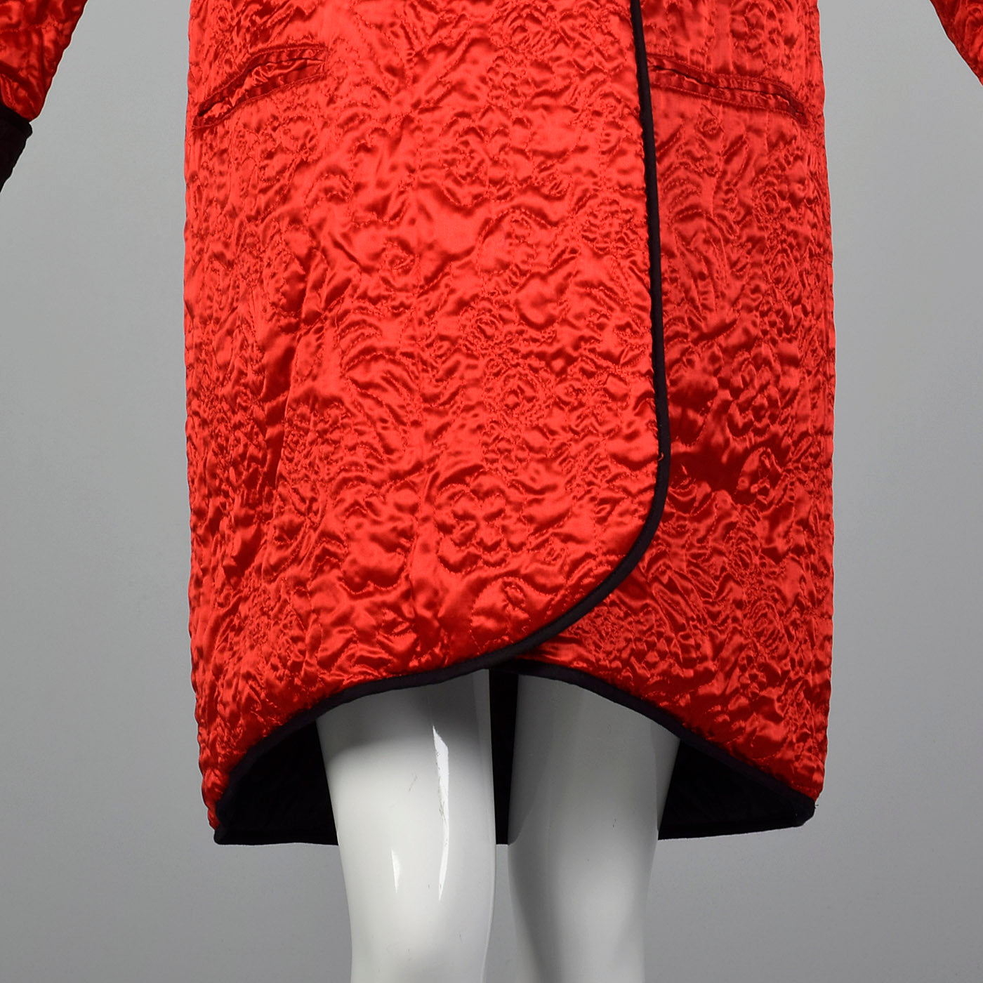 1980s Sonia Rykiel Reversible Quilted Coat