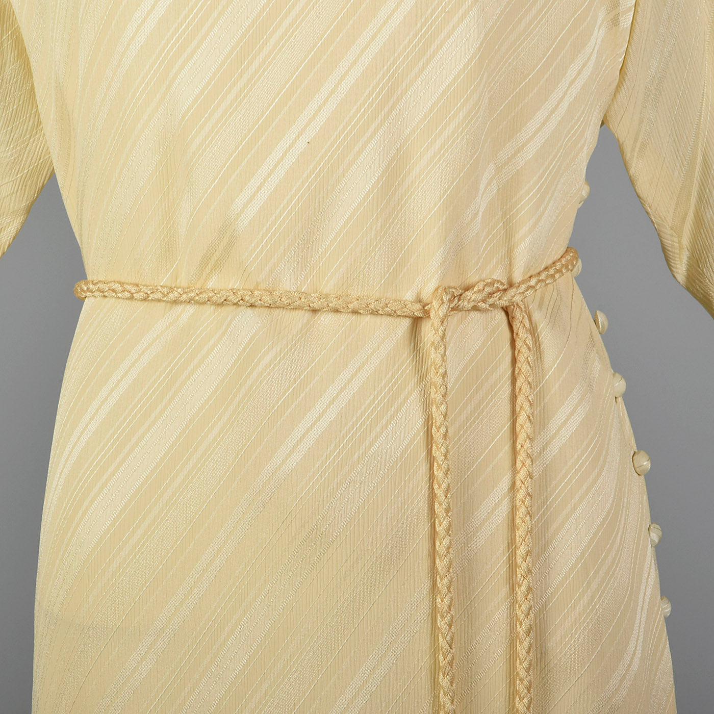 1980s Jean Louis Scherrer Boutique Silk Dress