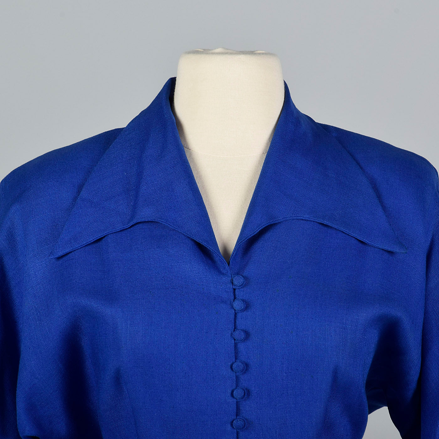 1950s Royal Blue Dress Jacket